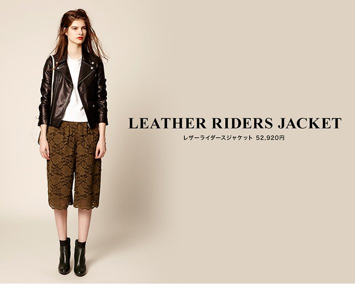 LETHER RIDERS JACKET